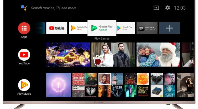 Allview Android TV 58″ (147cm) 4K » Specificații tehnice